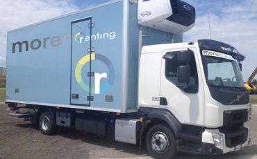 Camion Frigo 115 Quintali con sponda – Volvo