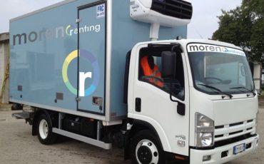 Camion Frigo 75 Quintali con sponda – Isuzu