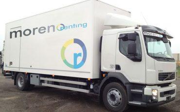 Camion Furgonato 180 quintali con sponda – Volvo FLH 12