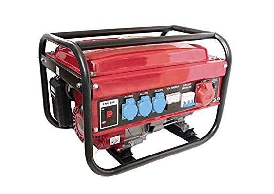 Generatore di Corrente 5,5 Kw 220 V MASE 8000S