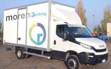 Camion 60 quintali con Furgone Isolato – Iveco Daily